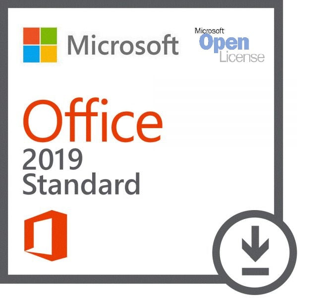 Microsoft Office for Mac Standard 2019 - 1 MAC - Open License