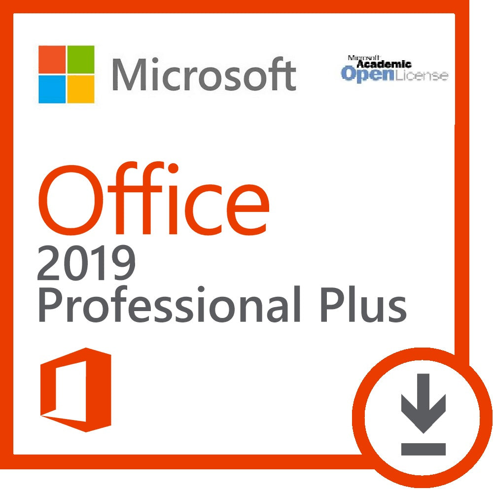 Microsoft Office 2019 Pro Plus | Academic Edition| Digital Download - Enterprises Software Solutions