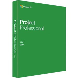 Microsoft Project 2019 Professional for Windows 10 | Box Pack | 1 PC| Medialess - Enterprises Software Solutions