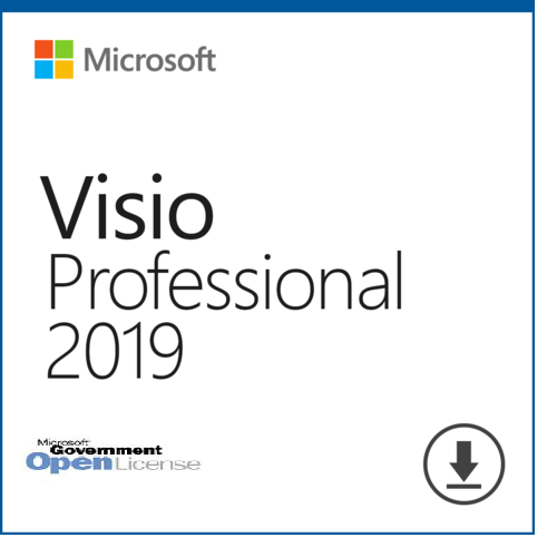 Microsoft Visio 2019 Professional | Open License for Govt | PN: D87-07515 | - Enterprises Software Solutions