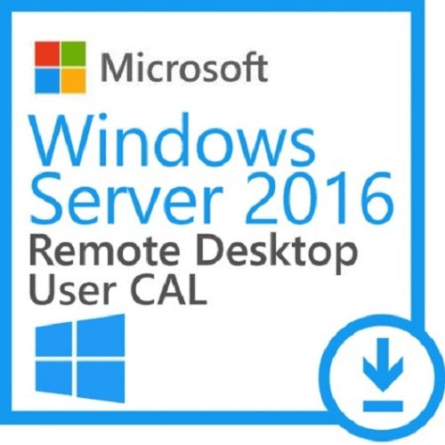 Microsoft Windows Server 2016 - 5 Remote Desktop USER CAL's - Enterprises Software Solutions
