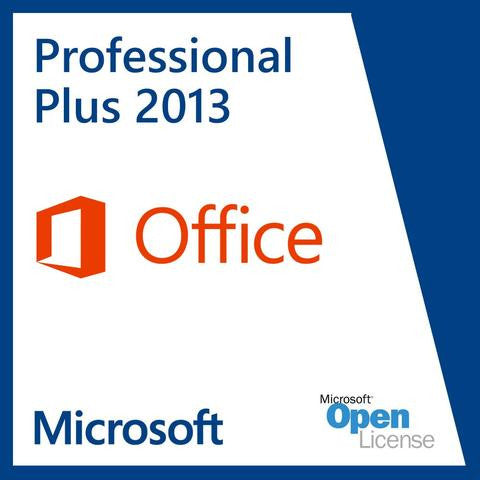 Microsoft Office 2013 Professional Plus | 32 bit / 64 bit | Digital Delivery - Enterprises Software Solutions