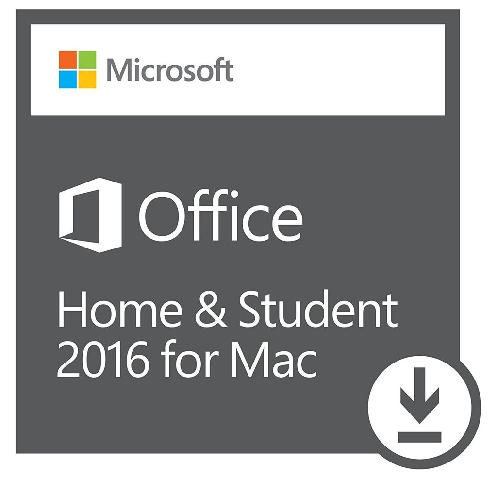 Microsoft Office 2016 Home and Student 2016 (with USB) for Mac