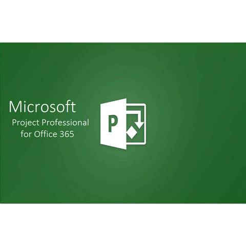 Microsoft Project Professional for Office 365 CSP License (Monthly)