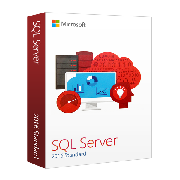 Microsoft SQL Server 2016 Standard + 10 CAL's - Instant Download - Enterprises Software Solutions