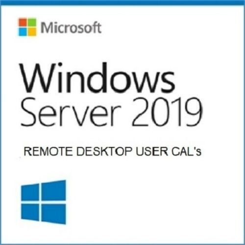 Microsoft Windows Server 2019 Remote Desktop Services | 5 User Cal License | Retail CAL Pack | PN:  6VC-03748