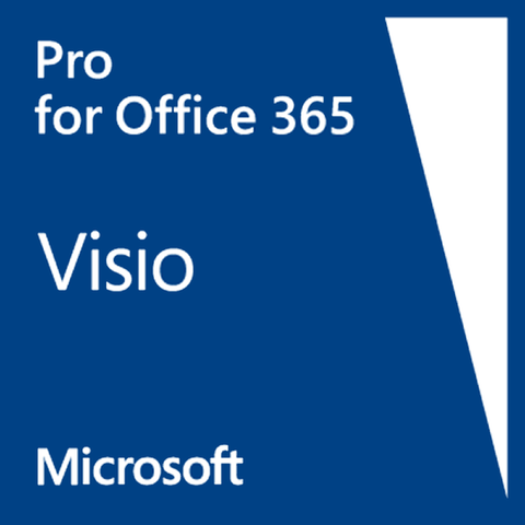 Visio Professional Subscription for Office 365 - 1 YEAR (Visio ONLINE PLAN 2) - Enterprises Software Solutions