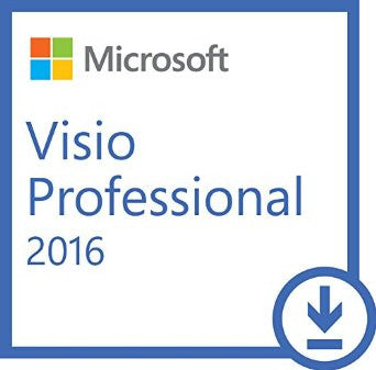 Microsoft Visio Professional 2016 | 1 PC license Academic Retail | 32/64 bit | Digital Download - Enterprises Software Solutions