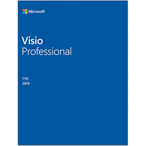 Microsoft Visio 2019 Professional | Full Retail ESD | Instant Download | PN: D87-07425 | - Enterprises Software Solutions