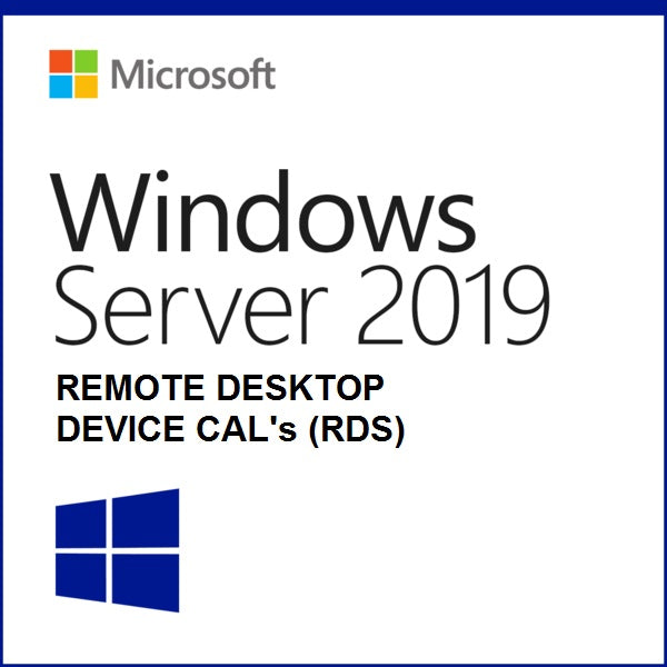 Microsoft Windows Server 2019 Remote Desktop (RDS) Device CAL | Open License | - 1 CAL - Enterprises Software Solutions