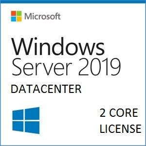 Microsoft Windows Server 2019 Datacenter | 2 Cores | Open License | 9EA-01045 - Enterprises Software Solutions