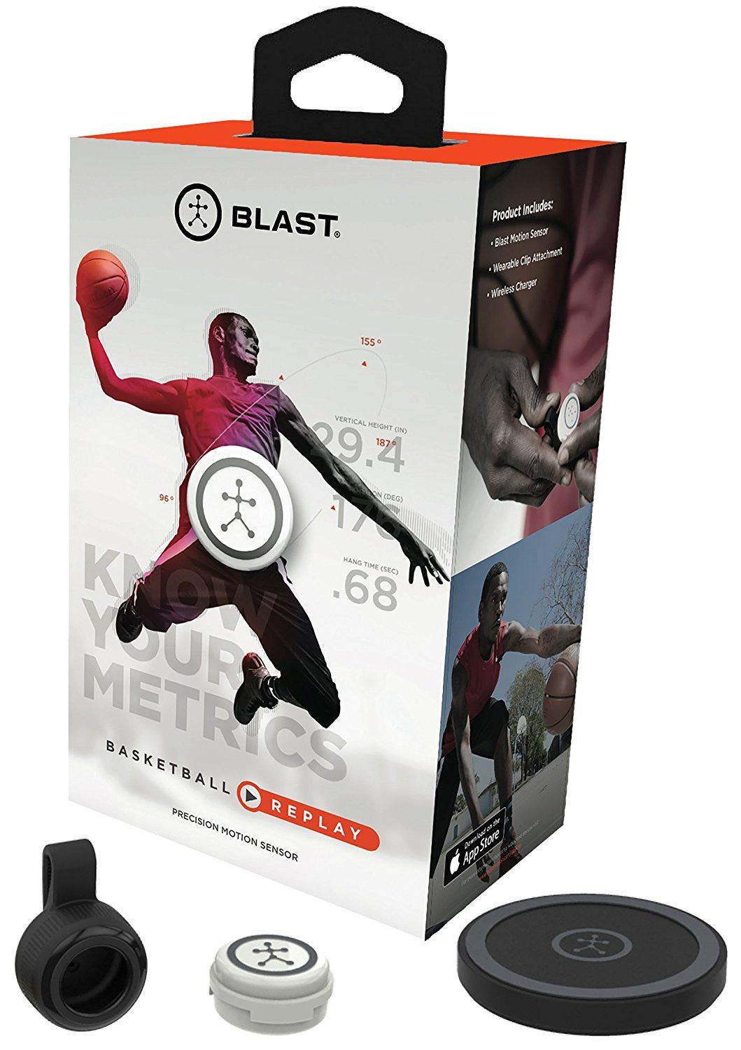 Blast Motion Basketball Replay/3D Capture