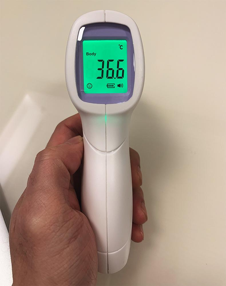 Non-Contact Infrared Human Body Thermometer - Enterprises Software Solutions