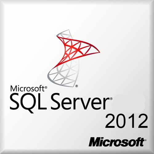 Microsoft SQL Server 2012 Standard OEM License + 1 Cal