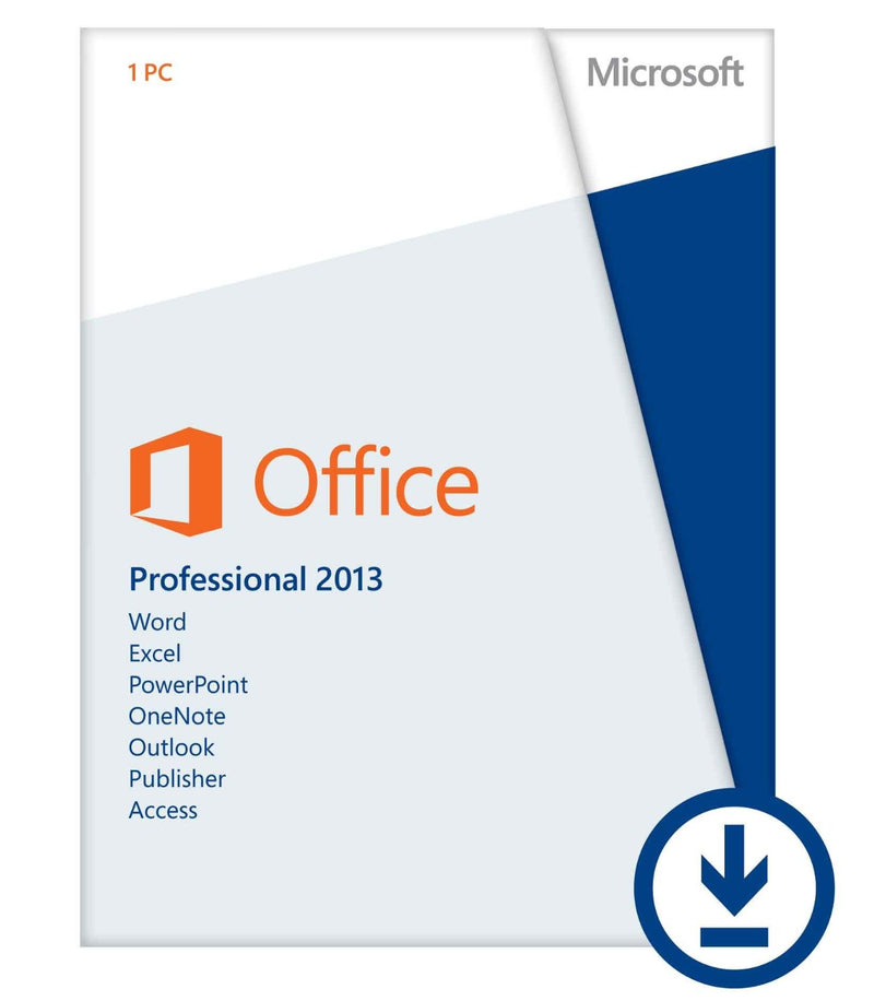 Microsoft Office 2013 Professional | 1 PC | Instant Download | Retail License - Enterprises Software Solutions