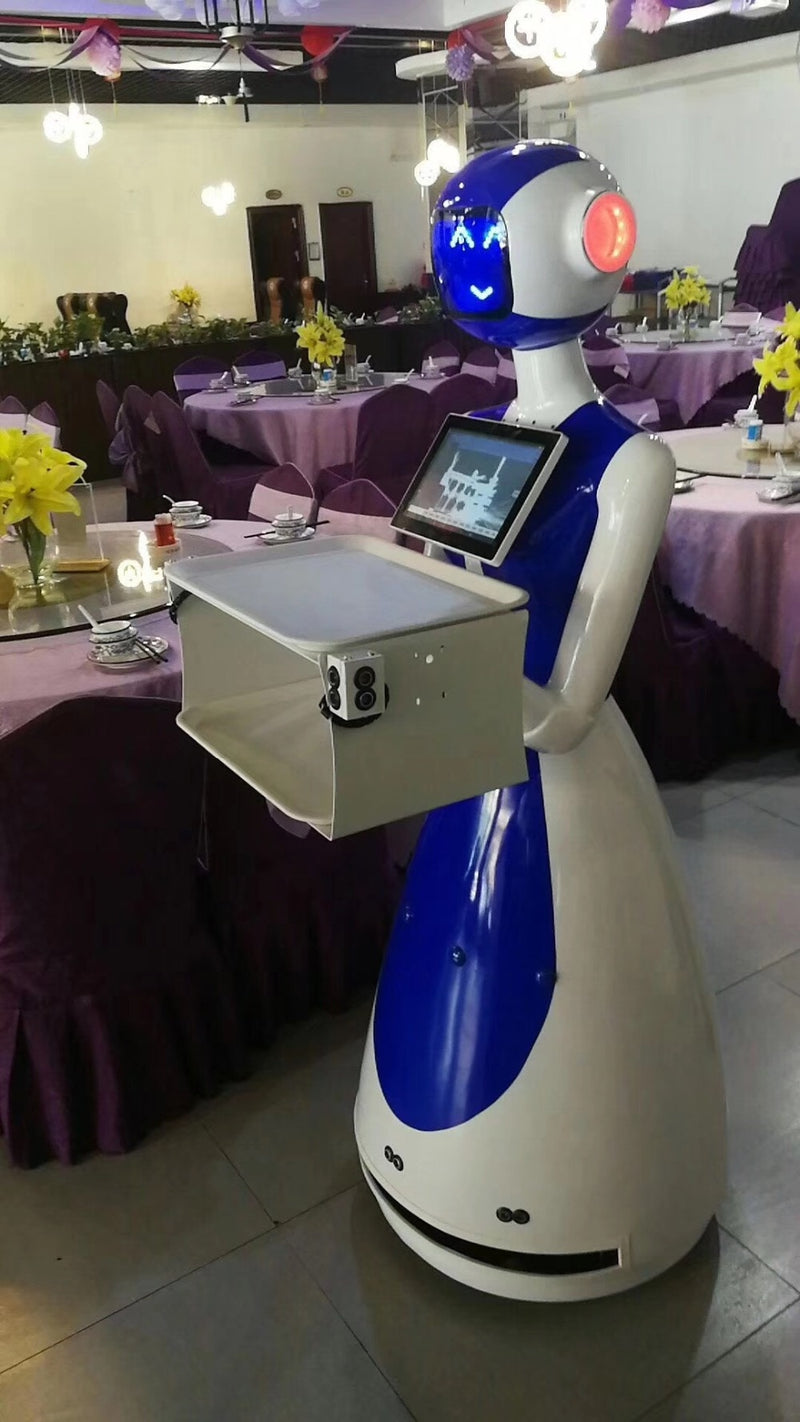 Android Automated Humanoid Smart Robot - Enterprises Software Solutions