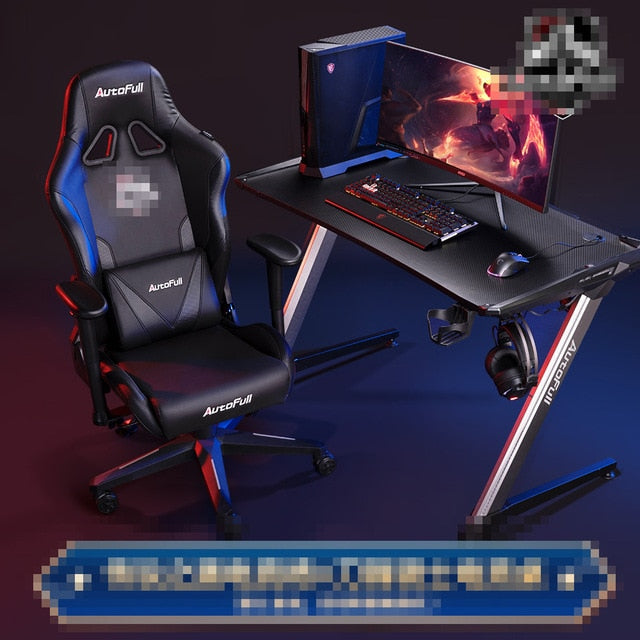 Modern Gaming Computer Gaming Table and Chair Combination
