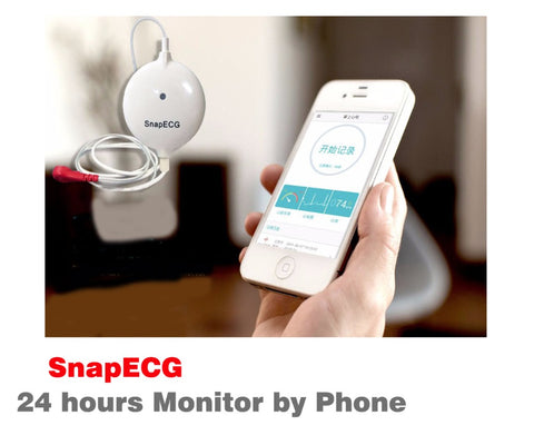 SnapECG  24hrs monitor for Android and IOS
