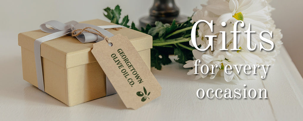 olive oil and vinegar gifts collection and gift sets