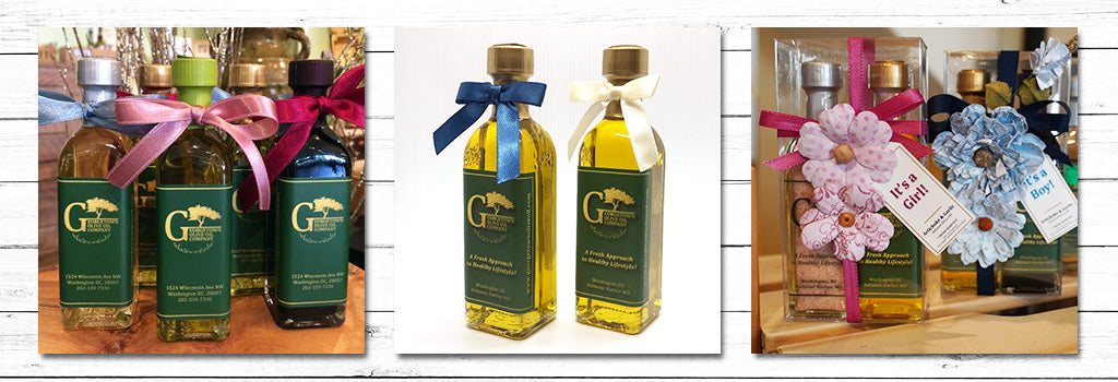 wedding favors oil and vinegar georgetown olive oil co