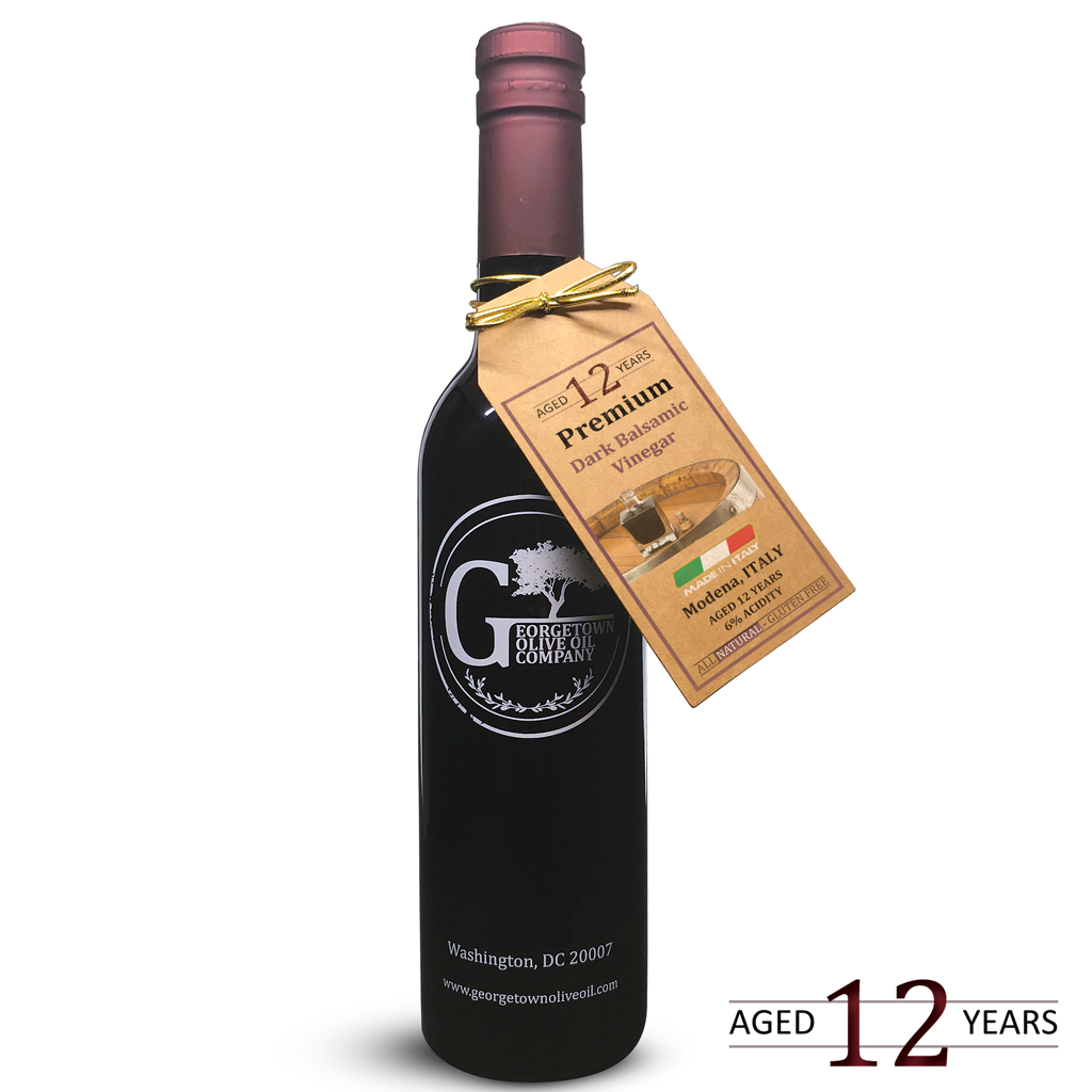 12 YEAR AGED Premium Dark Balsamic - Georgetown Olive Oil Co.