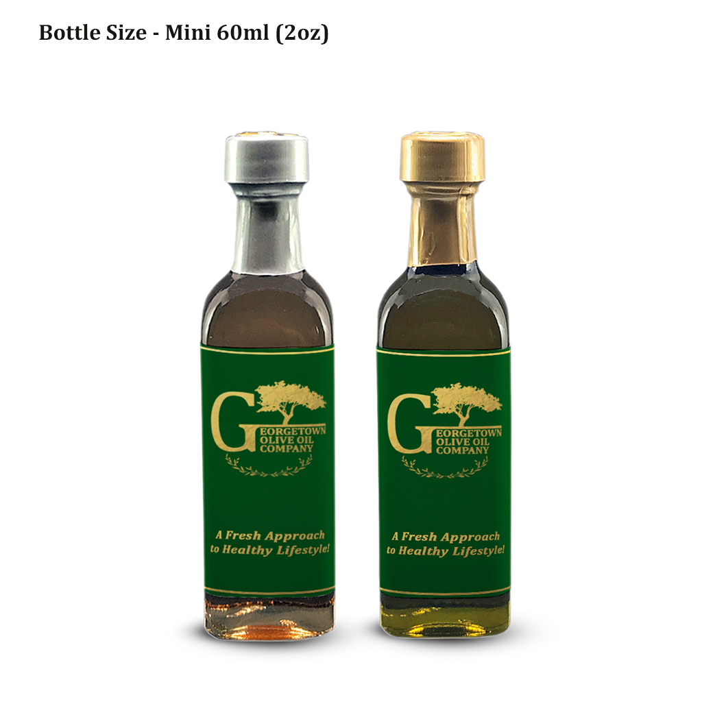 60ml-2oz-mini bottles oil and vinegar georgetown olive oil co