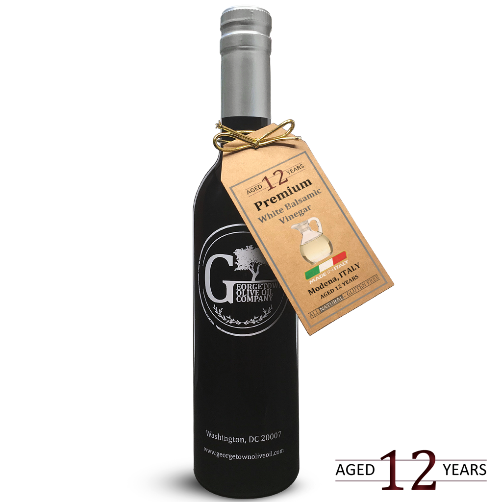 12 YEAR AGED Premium White Balsamic - Georgetown Olive Oil Co.