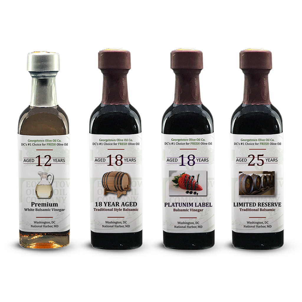 Aged Balsamic Collection - Georgetown Olive Oil Co.