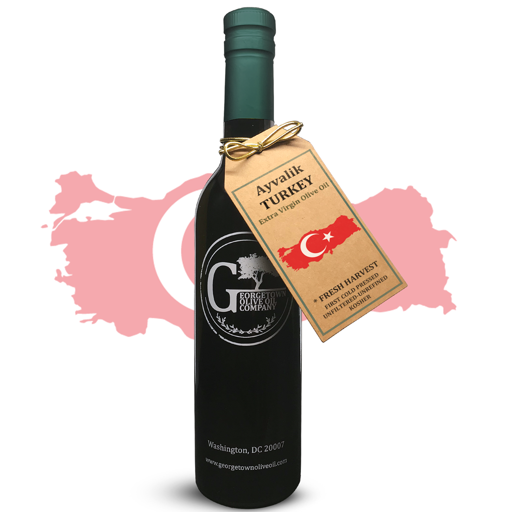 🇹🇷 Ayvalik (TURKEY) Extra Virgin Olive Oil - Georgetown Olive Oil Co.