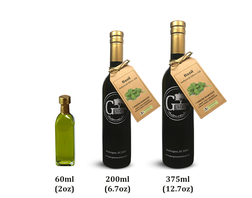 Basil Olive Oil - Georgetown Olive Oil Co.