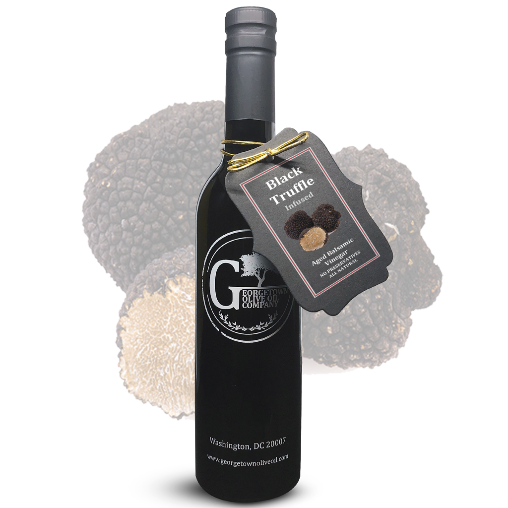 Black Truffle Infused Balsamic - Georgetown Olive Oil Co.