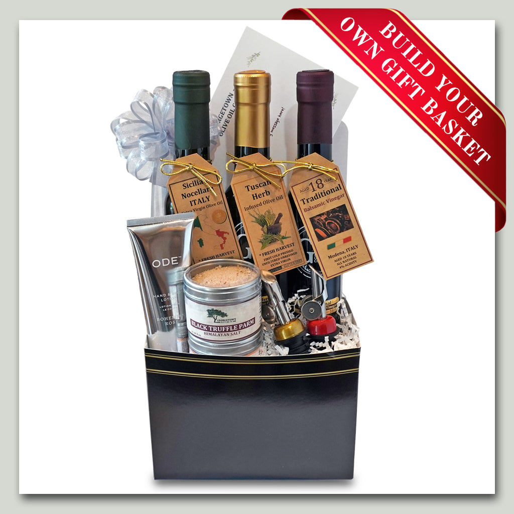 Gift Basket - Build Your Own - Georgetown Olive Oil Co.