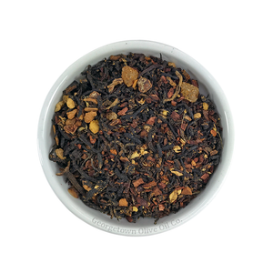 Ginger Peach Cinnamon Black Tea - Georgetown Olive Oil Co.
