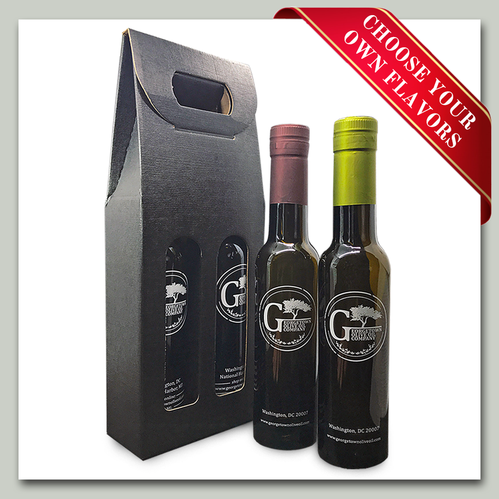 Oil and Vinegar Gift Set - 2 Bottles - Georgetown Olive Oil Co.