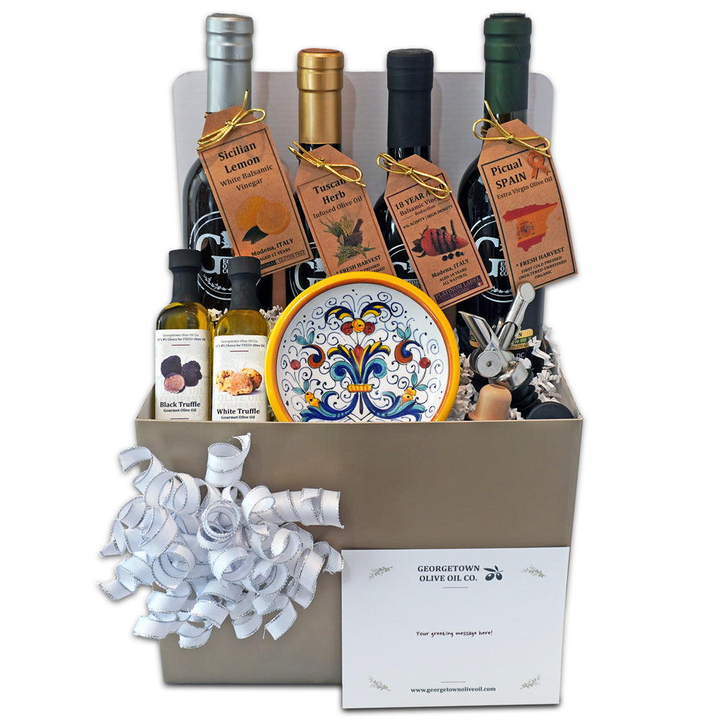 Olive Oil And Vinegar Gifts Collection Georgetown Olive Oil Co