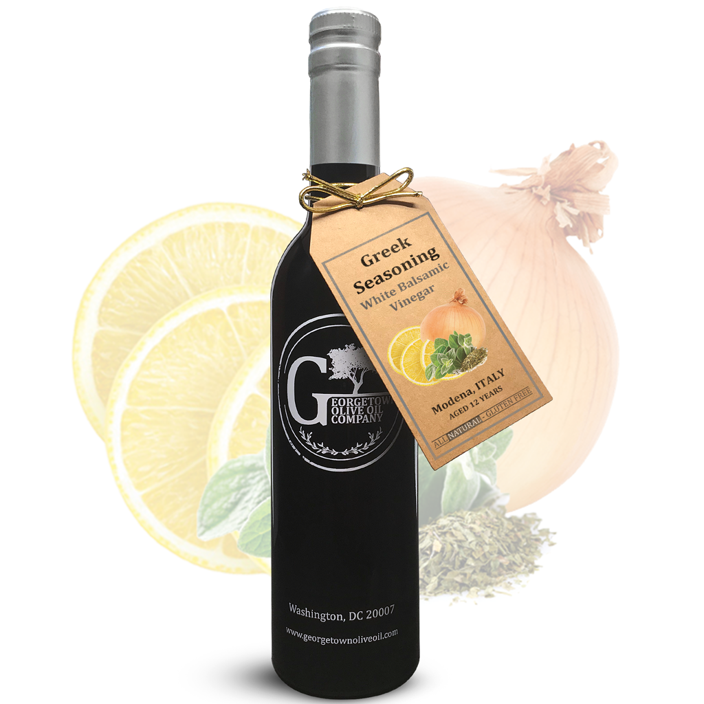 Greek Seasoning White Balsamic - Georgetown Olive Oil Co.
