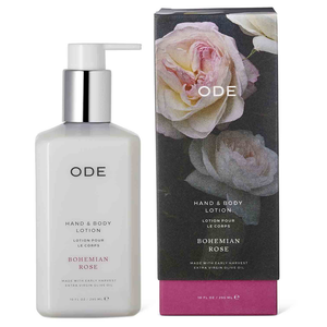 HAND & BODY LOTION - Bohemian Rose - Georgetown Olive Oil Co.