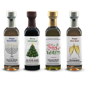 Holiday Favors - mini bottles - Georgetown Olive Oil Co.