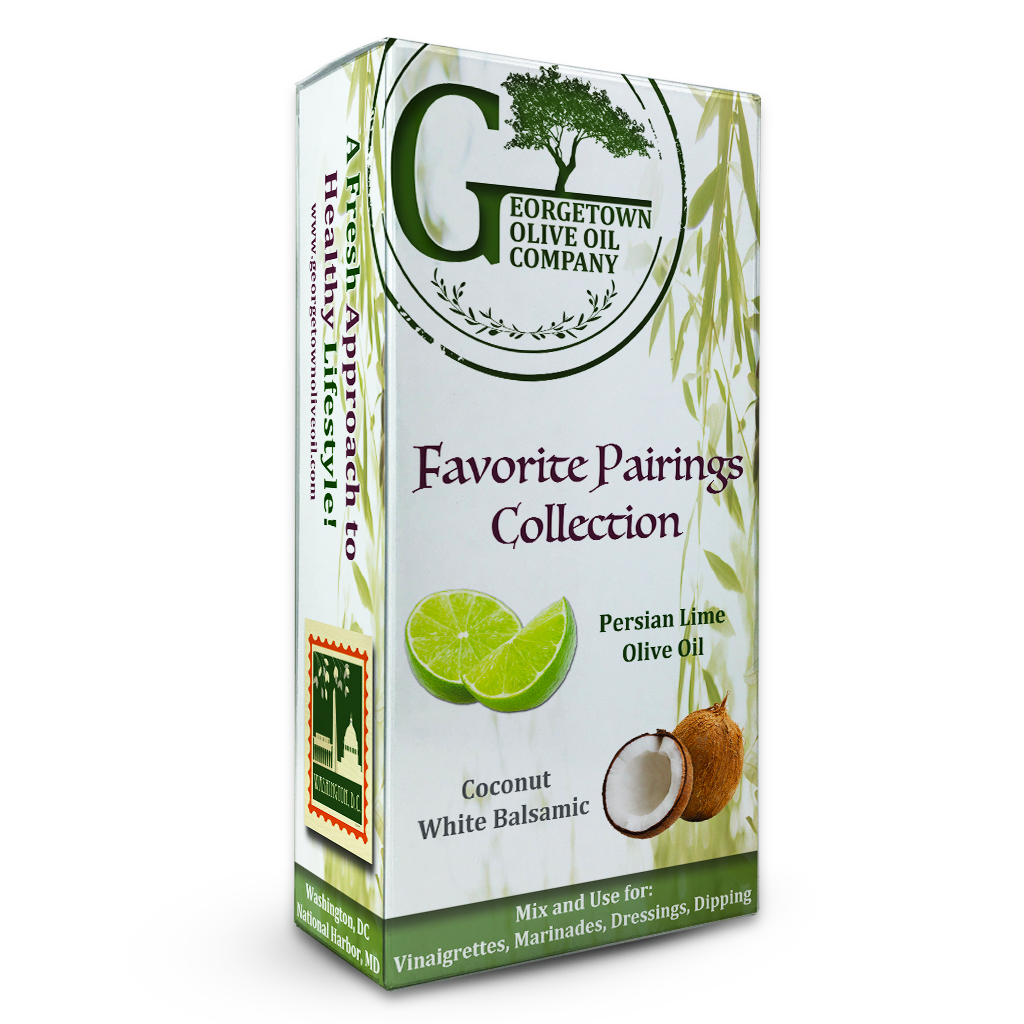 Persian Lime & Coconut Pairing - Georgetown Olive Oil Co.