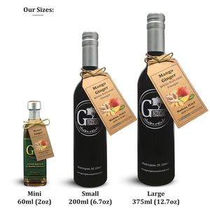 Mango Ginger White Balsamic Vinegar - Georgetown Olive Oil Co.