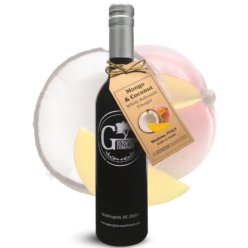 Mango & Coconut White Balsamic - Georgetown Olive Oil Co.