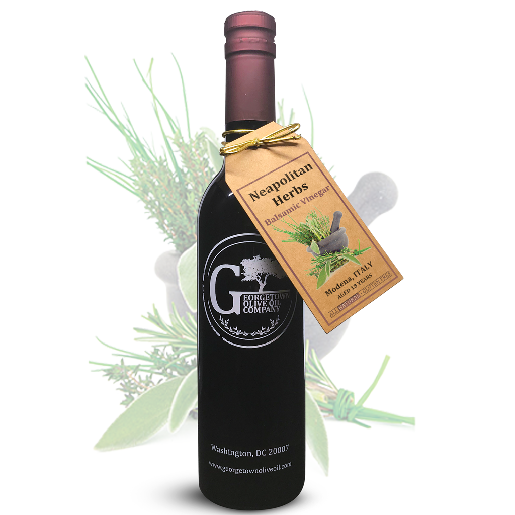 Neapolitan Herbs Balsamic Vinegar - Georgetown Olive Oil Co.