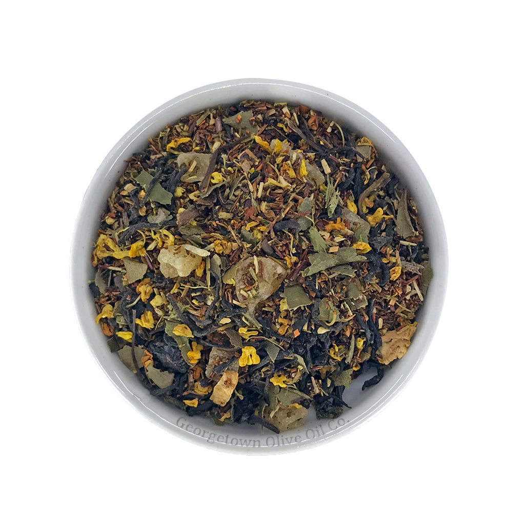 Peach Lemon Mango Green and Black Tea - Georgetown Olive Oil Co.