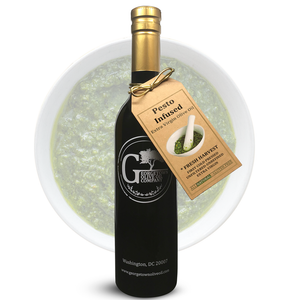 Pesto Infused Olive Oil - Georgetown Olive Oil Co.