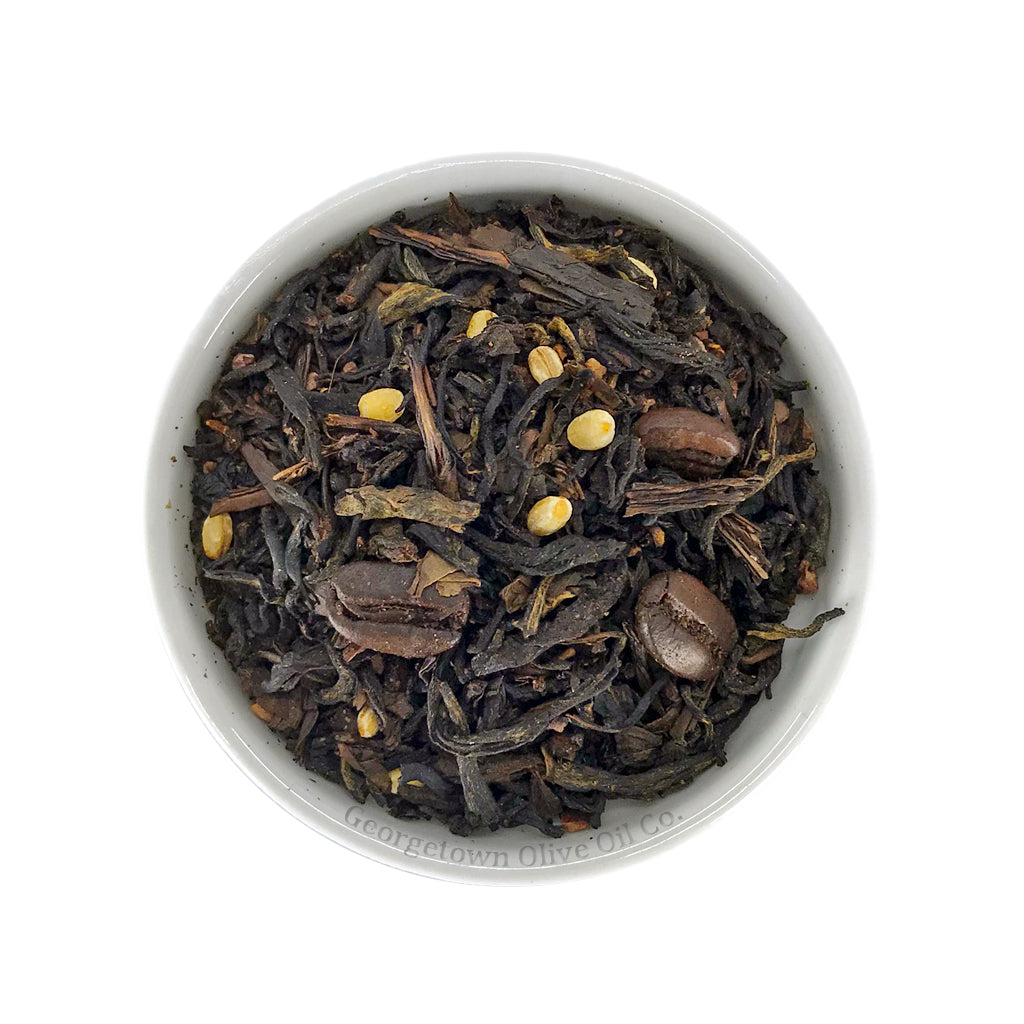 Roasted Cocoa Barley Coffee Black Tea - Georgetown Olive Oil Co.