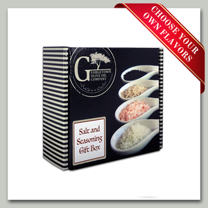 Salt and Seasonings Gift Box - Georgetown Olive Oil Co.