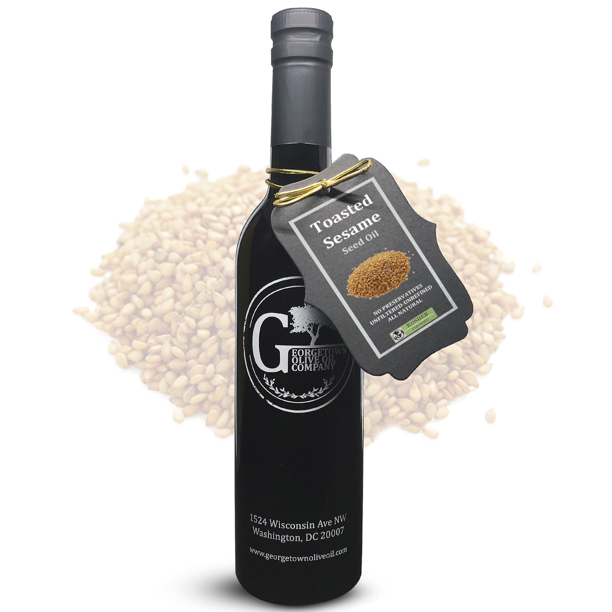 Japanese Toasted Sesame Oil - Georgetown Olive Oil Co.