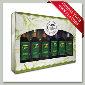 Oil and Vinegar Gift Set - 6 bottles Georgetown Olive Oil