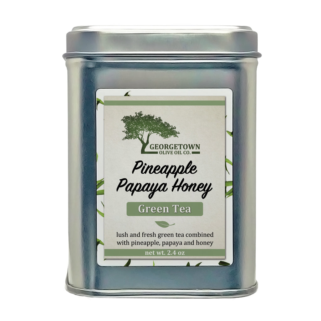 Pineapple Papaya Honey Green Tea - Georgetown Olive Oil Co.