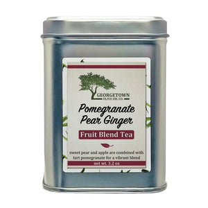 Pomegranate Pear Ginger Fruit Tea Georgetown Olive Oil Co.